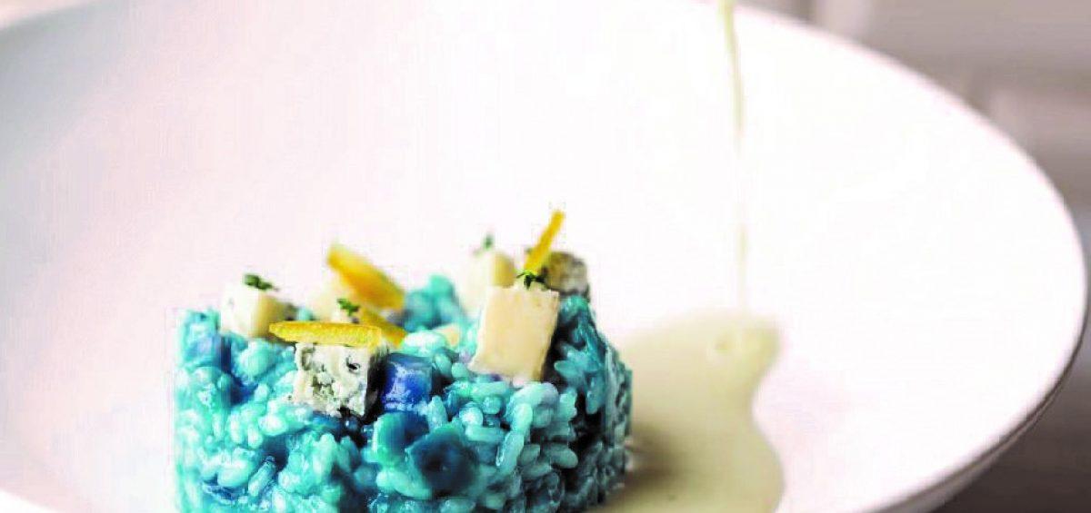 Ricetta risotto al blu con riso Due Alfieri