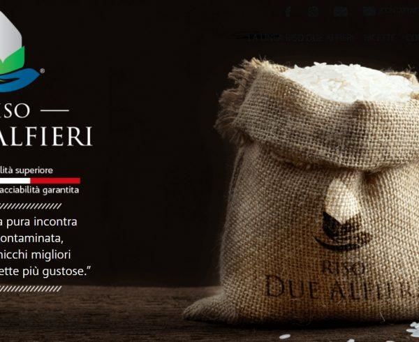 Riso due Alfieri eccellenza italiana prodotto a Novara, in vendita alla Farmacia Viale Giulio Cesare