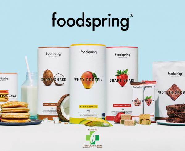 foodspring® integratori e alimenti proteici e vegani in esclusiva a Novara